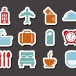 Hotel icons — Stock Vector #22061643