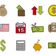 Tax icons — Stock Vector #22062845
