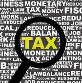 Tax icon — Stock Vector