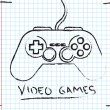 Video Games — Imagen vectorial