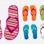 Flip flops — Stock Vector #22296823
