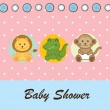 Baby shower — Stock Vector #22297361