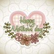 Happy mothers day — Stock vektor #22389429