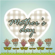 Happy mothers day — Vector de stock #22389431