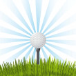 Stock Vector: Golf illustration