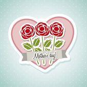 Glad mors dag — Stockvektor