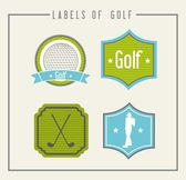 Golf illustration — Stock Vector
