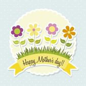 Mother day — Stock Vector