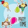 Party Time Icons — Stock Vector #22598441