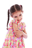 Child girl — Stock Photo