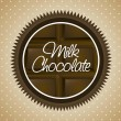 Royalty-Free Stock Imagem Vetorial: Milk chocolate