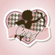 Cupid vector - Stock Vector