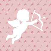 Cupid vector — Stock Vector