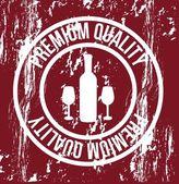 Wine seal — Stock Vector