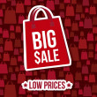 Vector de stock : Big sale