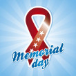 Memorial day — Vector de stock #22999704