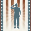Memorial day — Vector de stock #22999734