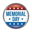 Memorial day — Vector de stock #22999770