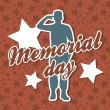 Memorial day — Stock Vector #22999784