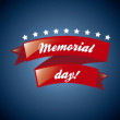 Vector de stock : Memorial day