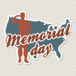 Memorial day — Stock Vector #22999814