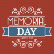 Memorial day — Stock Vector #22999878