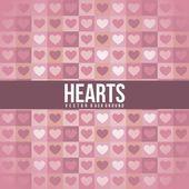 Vetor de corações — Vetorial Stock