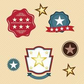 Stars icons and concepts — Stock Vector