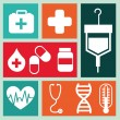 Medicine icons — Stock Vector #23269286