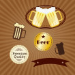 Bar Labels — Stock Vector #23334310