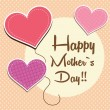 Vector de stock : Happy mother day