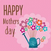 Happy mother day — Stock Vector