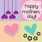 快乐母亲节 — 图库矢量图片