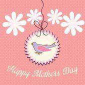 Matka szczęśliwy dzień — Wektor stockowy