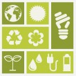 Ecology icons — Stock Vector #23537371
