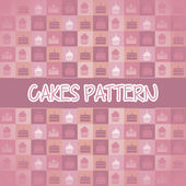 Cakes icons — Stock Vector