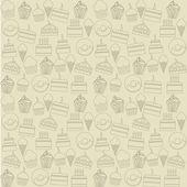 蛋糕图标 — 图库矢量图片