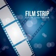 Stock Vector: Film stripe