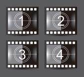 Film stripe — Stock Vector