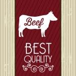 Beef vector — Stock Vector