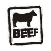 Beef vector — Vetor de Stock