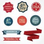 USA Icons — Stock Vector #24079467