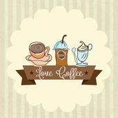 Coffee Icons — Vetorial Stock