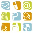Email icons — Stock Vector #24256507