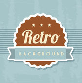Retro-Hintergrund — Stockvektor