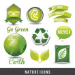 Royalty-Free Stock Vector Image: Natural icon
