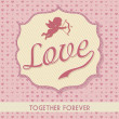 Royalty-Free Stock Vector Image: Love card