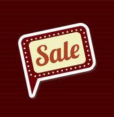 Försäljning bakgrund — Stockvektor