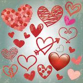 Aşk kartı — Stockvector
