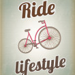 Ride lifestyle - Stock Vector